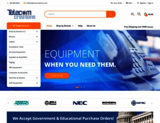 telecomcreations.com screenshot