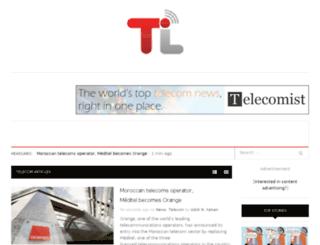 telecomist.com screenshot
