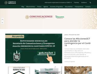 telecomm.net.mx screenshot