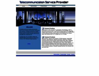 telecommunicationserviceprovider.com screenshot
