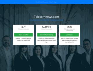 telecomnews.com screenshot