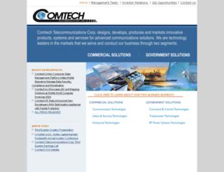 telecomsys.com screenshot