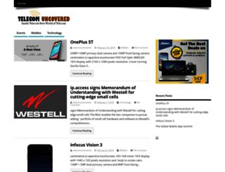 telecomuncovered.com screenshot