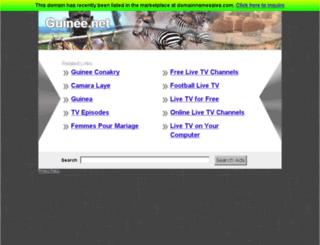 telediaspora.guinee.net screenshot