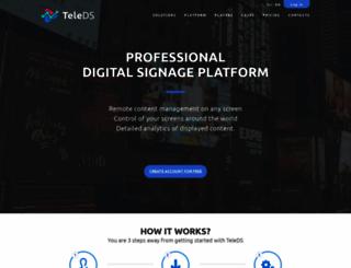 teleds.com screenshot