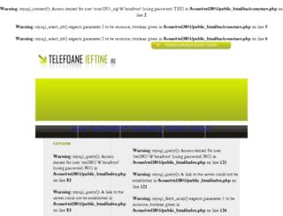 telefoaneieftine.ro screenshot