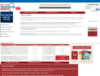 telefolio.com screenshot