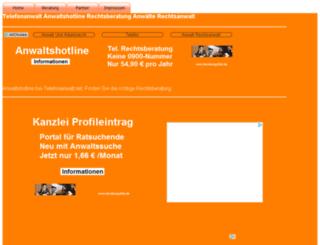 telefonanwalt.net screenshot