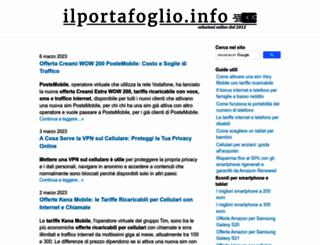telefonia.ilportafoglio.info screenshot