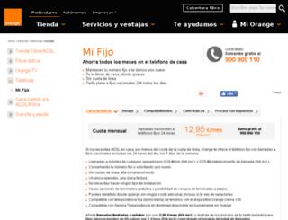 telefonia.orange.es screenshot
