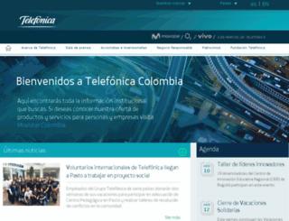 telefonica.com.co screenshot