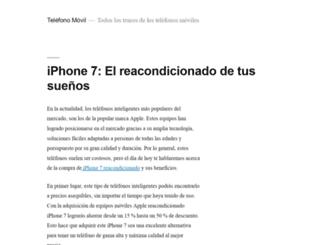 telefono-movil.net screenshot