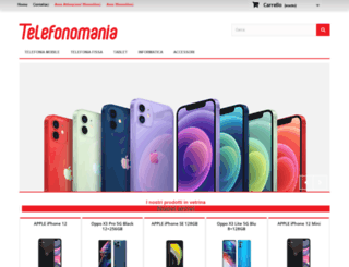 telefonomania.it screenshot