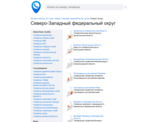 telefonspb.ru screenshot