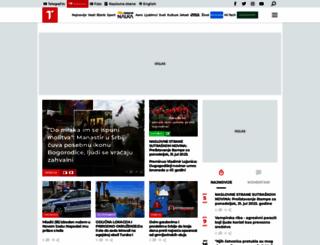 telegraf.rs screenshot