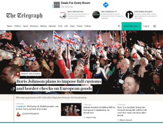 telegraph-news.com screenshot
