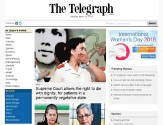 telegraph.in screenshot