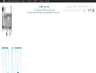 telegraphcottages.co.uk screenshot