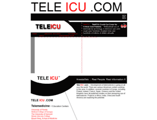 teleicu.com screenshot