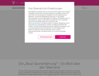 telekom-neue-sporterfahrung.de screenshot