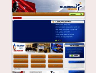 telekomculardernegi.org.tr screenshot
