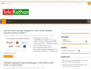 telekothon.blogspot.com screenshot