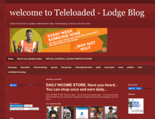 teleloaded.blogspot.com screenshot