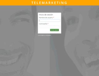 telemarketing.factoriadearte.com screenshot