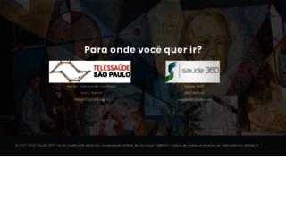 telemedicina.unifesp.br screenshot