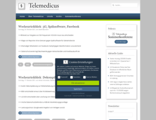 telemedicus.info screenshot