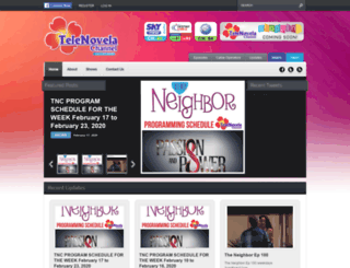 telenovelachannel.com screenshot