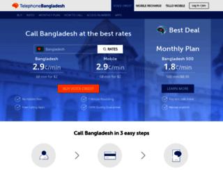 telephonebangladesh.com screenshot