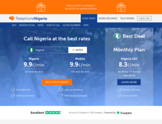 telephonenigeria.com screenshot