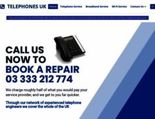 telephonesuk.co.uk screenshot