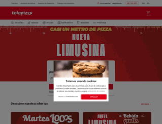 telepizza.es screenshot