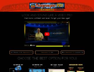 teleprompter-pro.com screenshot