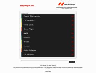 telepromptor.com screenshot