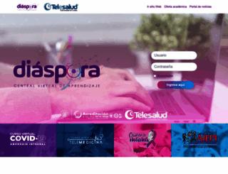 telesalud.ucaldas.edu.co screenshot