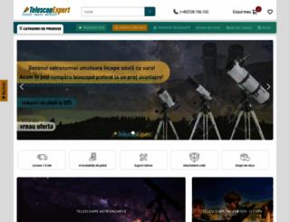 telescop-expert.ro screenshot
