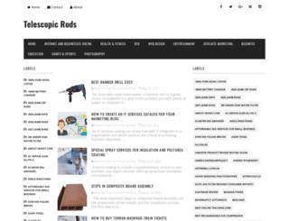 telescopicrods.blogspot.de screenshot