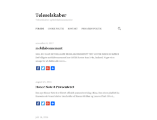 teleselskaber.net screenshot