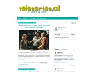 teleseriescl.blogspot.cl screenshot