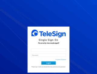 telesign.appid.com screenshot