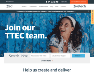teletechjobs.com screenshot