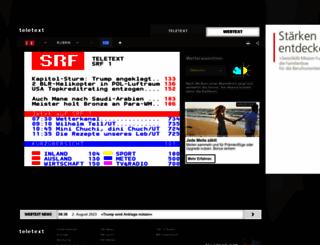 teletext.ch screenshot