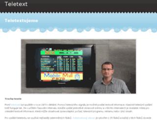 teletext.webs.com screenshot