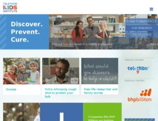 telethon.claritycommunications.com.au screenshot