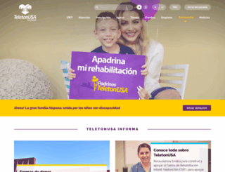 teletonusa.org screenshot