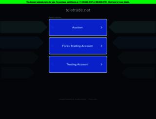 teletrade.net screenshot