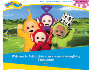 teletubbies.co.uk screenshot
